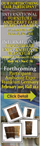 Participant Ambiente Expo Frankfurt Germany