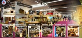 Upcoming Participant Ambiente Trade Fair Feb – 2017