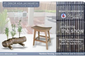 Ambiente The Show, Messe Frankfurt Germany 2017 10-14 February